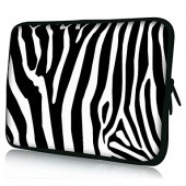 "Zebra Stripe Tablet Sleeve Case fits 10"" 11"" 13"" 15"""
